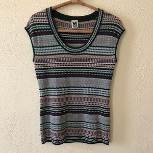 M by Missoni Sweater Tee S